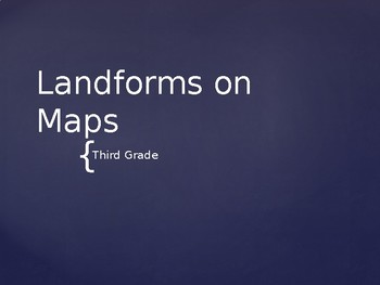 Landforms on Maps