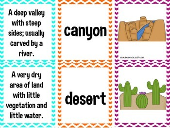 Landforms: posters, workstation, and notebook foldables