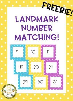 Landmark Number Matching