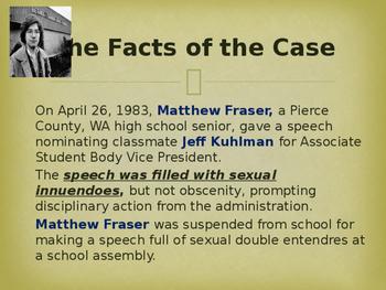 Landmark Supreme Court Cases - Bethel School District v. Fraser