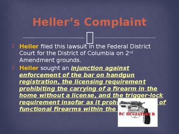 Landmark Supreme Court Cases - District of Columbia v. Heller