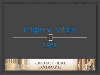 Landmark Supreme Court Cases - Engle v. Vitale