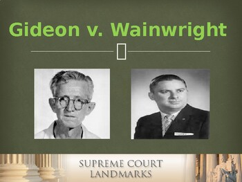 Landmark Cases of the U.S. Supreme Court