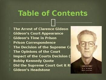Landmark Supreme Court Cases - Gideon v. Wainwright