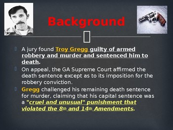 Landmark Supreme Court Cases - Gregg v. Georgia