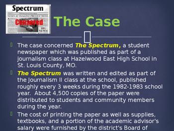 Landmark Supreme Court Cases - Hazelwood School District v. Kuhlmeier