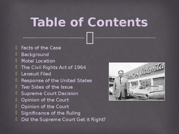 Landmark Supreme Court Cases - Heart of Atlanta Motel v. United States