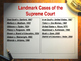 Landmark Supreme Court Cases - 13 Most Significant Cases -