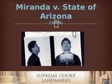 Landmark Supreme Court Cases - Miranda v. State of Arizona