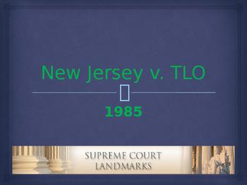Landmark Supreme Court Cases - New Jersey v. TLO