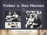 Landmark Supreme Court Cases - Tinker v. Des Moines