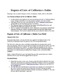 Landmark Supreme Court Decisions: Regents of Univ of Cal v. Bakke- affirm action