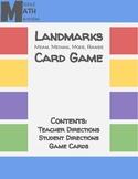 Landmarks (Mean, Median, Mode, Range) Game