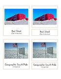Landmarks In Antarctica (3-Part Montessori Cards)