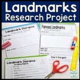 Landmarks Research Project: Perfect for ANY Famous USA or World Landmark