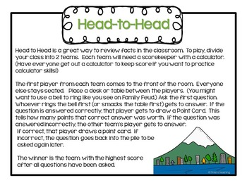 Landmarks and Locations Research Task Cards