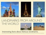 Landmarks from around the world