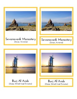 Landmarks in Asia