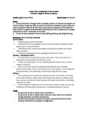 Landmarks in Our Country - Lesson Plan