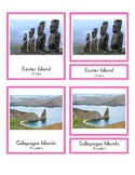 Landmarks in South America (3-Part Montessori Cards)