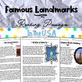 Landmarks in the USA with Distance Learning