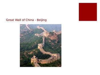 Landmarks of China