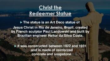 Landmarks of South America