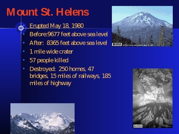 Landmarks of the Pacific States: Powerpoint