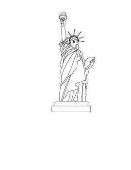 Landmarks of the United States Civics / Geography Lesson