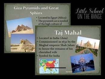 Landmarks of the World Presentation