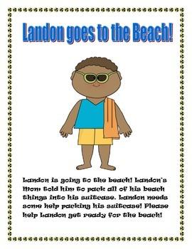 Landon Goes To The Beach!