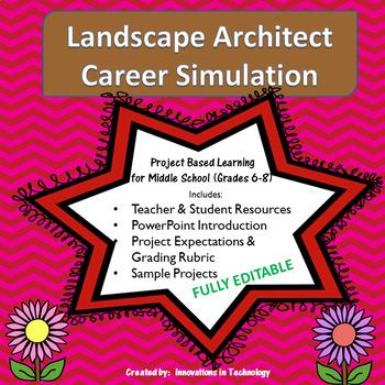 Exploring Careers:  Landscape Architect - Career Simulation