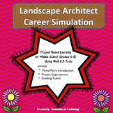 Exploring Careers:  Landscape Architect - Career Simulation | Distance Learning