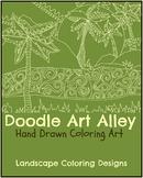 Landscape Coloring Book
