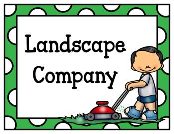 Landscape Company (Dramatic Play)