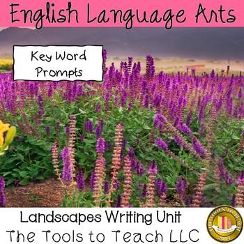Landscape Scenes Writing Prompts Unit
