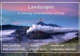 Landscapes - Reading and Listening Worksheet