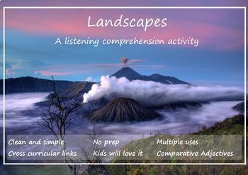 Landscapes - Reading and Listening Worksheet