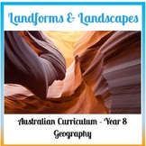 Landscapes and Landforms – Assessment Task with rubric