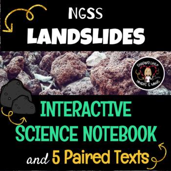 Landslides- Science Interactive Notebook & Journal