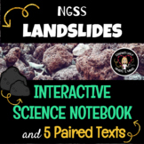Landslides NGSS Science Interactive Notebook & Journal