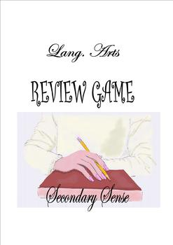Lang. Arts REVIEW GAME student-generated