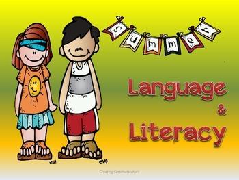 Langauge & Literacy Summer Pack