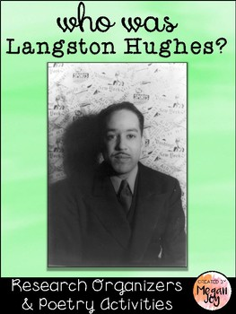 Langston Hughes Poet Study