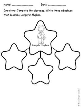 Langston Hughes- Black History Month Activity