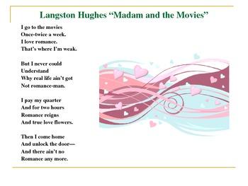 Langston Hughes Common Core Grammar-Characterization-Stereotype Activity