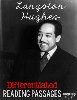 Langston Hughes Differentiated Reading Passages