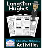 Langston Hughes Interactive Notebook Activities