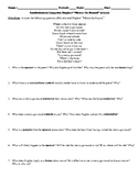 """Langston Hughes' """"Merry-Go-Round"""" Poem Study Guide and Multiple Choice Quiz"""