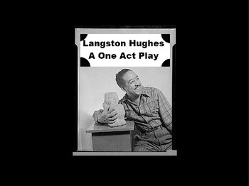 Drama - Langston Hughes - One Act Play Powerpoint